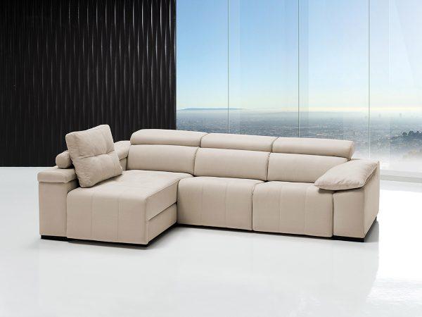 Sofá tapizado piel modelo ALBA