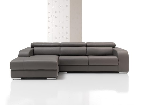 Sofá tapizado piel modelo ORION