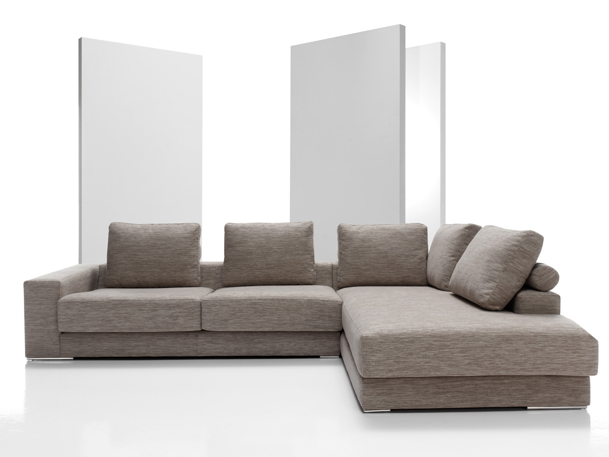 Sofas piel modernos beautiful chaise longue piel with for Sofa tapizado moderno