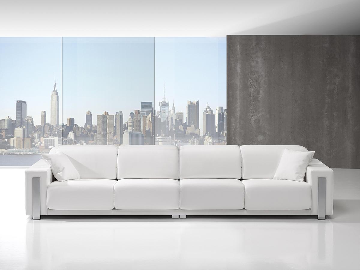 Sofa tapizado modelo binton wiosofas 3 sofas de dise o - Sofas de diseno en piel ...