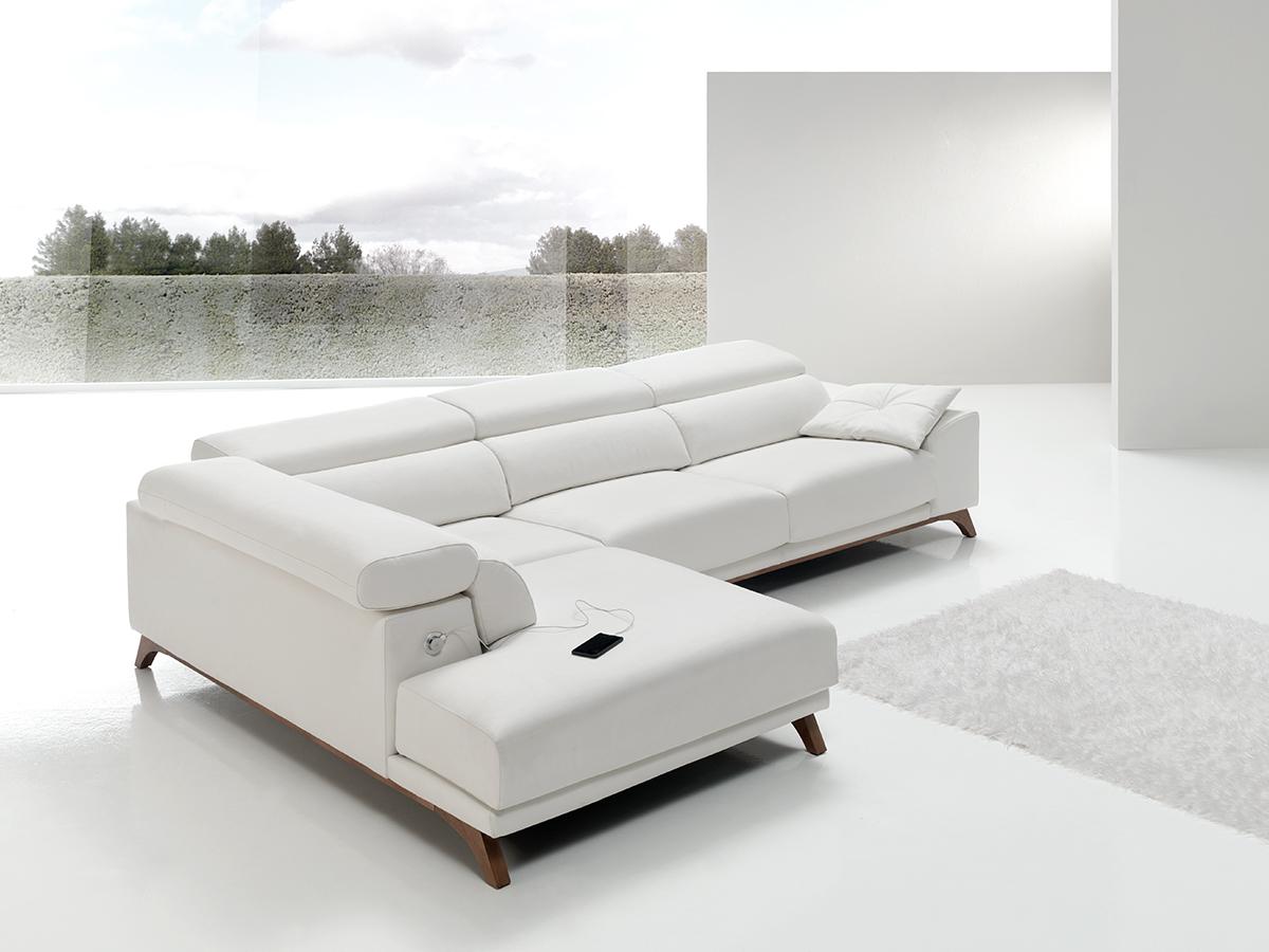 Sofa tapizado modelo bako wiosofas 2 sofas de dise o - Sofas de diseno moderno ...