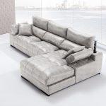 Sofá tapizado piel modelo GUAY-3