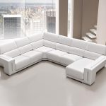 Sofá tapizado piel modelo RINCONERA-3