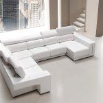 Sofá tapizado piel modelo RINCONERA-4