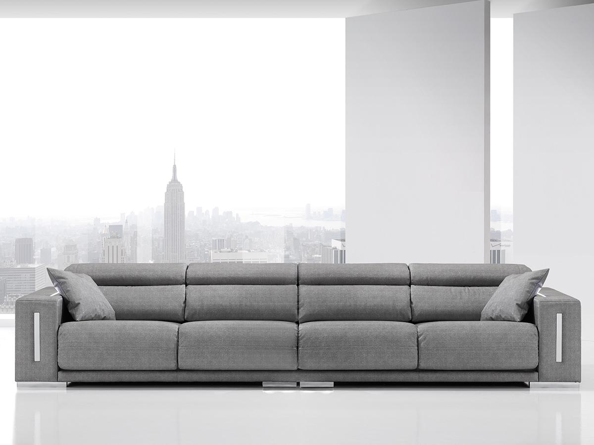 Sof modelo singuer for Sofa tapizado moderno
