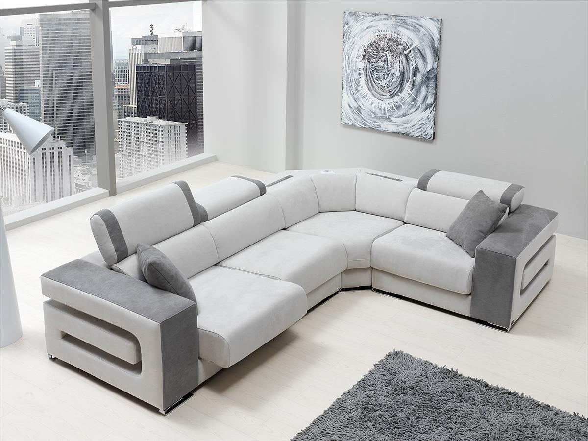 Sofa tapizado modelo sombras wiosofas 2 sofas de dise o - Tapizados para sofas ...