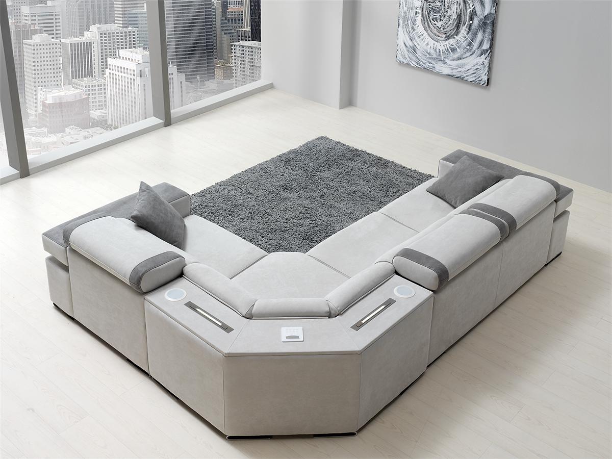 Sof modelo sombras for Futon cama dos plazas