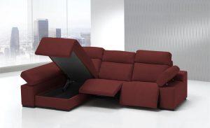 Sofás modernos, simulación tapicería, 7