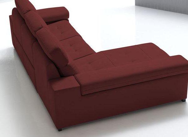 Sofás modernos, simulación tapicería, 1
